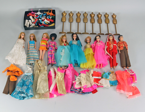 """Dawn"" Dolls, Topper Corp. Ca. 1970's"
