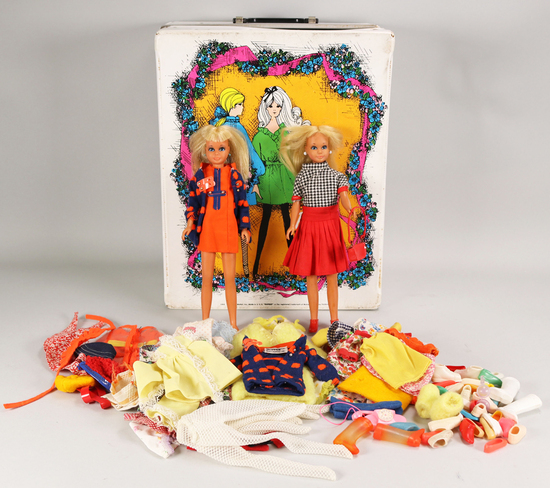 1967 Mattel Skipper Dolls w/Bendable knees