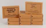 Vintage Caliber .30  Ball M2 Ammo, 200 Rds.