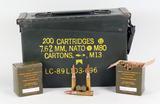 Vintage 7.62 x 51 NATO Venezolana Ammo, 200 Rds.