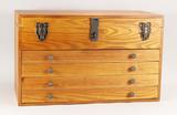 4 Drawer Hobby Machinist Wooden Tool Box
