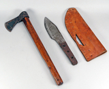 Primitive Axe & Knife