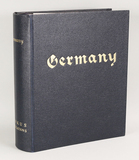 Book of German Collectible Stamps, Partial book