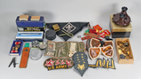 Scouting Items, Vintage Viewmaster, Cross Pen, Military Items & More