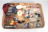 Costume Jewelry, Darning Eggs, Coin Purses & More