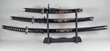 Samurai Style Swords, Dagger w/ Stand