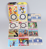 Vintage ViewMaster Reels:  Popeye, Mighty Mouse, Yogi Bear, Peanuts & More