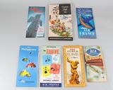 Vintage Airline Travel Brochures: TWA, Alaska, Air France, Northwest