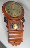 Dancker Germany Regulator Clock w/ Westminster Chime
