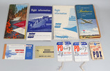 Vintage United Airlines Tickets, Promo Items