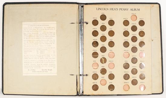 Lincoln Head Penny Album