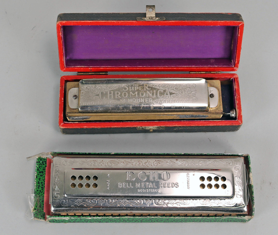 Vintage M. Hohner Harmonicas