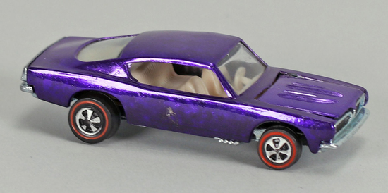 "Hot Wheels ""Redline"" Custom Barracuda, Ca. 1967"