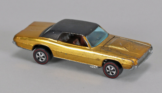 """Hot Wheels """"Redline"""" Custom T-Bird, Ca. 1967"""