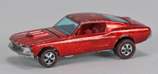"""Hot Wheels """"Redline"""" Custom Mustang, Ca. 1967"""