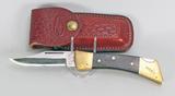Vintage Case 59LL SS Hunting Heritage Knife, w/ Sheath