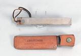 Schrade Honesteel Knife Sharpener w/ Craftsman Sheath