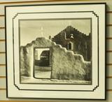 New Mexico Adobe Chapel Print