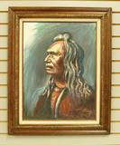 Three Eagles, Nez Perce, by Dorn '87