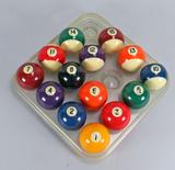 Vintage Billiard - Pool Balls - Incomplete Set