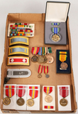 Vintage US Military Medals and Ribbons