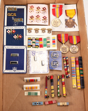 Collectible US Insignias, Pinbacks, Medals and Ribbons
