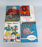 Oregon State Football Programs from 1956
