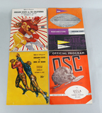 Oregon State Football Programs from 1957