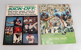 AFL Football Promotional Player Brochure & 1965 Football Yearbook