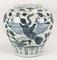 Chinese Ming Style Blue & White Jar