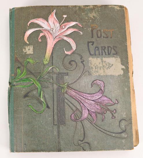 Antique Post Card Album
