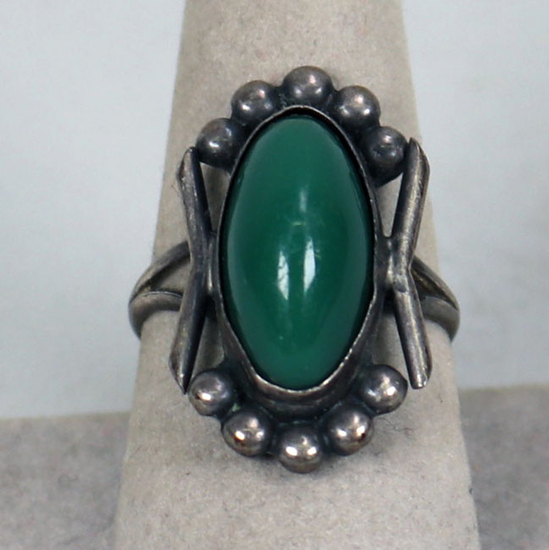 Vintage Southwest Style Ring, Sz. 8.5