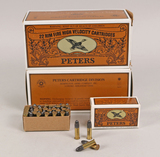 Peters .22 Long Rifle Ammo, 1000 Rds.