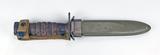 US M4 Bayonet - Camillus, for M1 Carbine, WWII Era