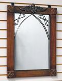 Mirror w/ Winged Cherub Detail