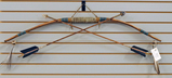Handcrafted Long Bow & Arrows by Native American Artist