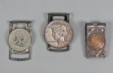 Silver Coin Money Clips & Sterling  Aztec Clip