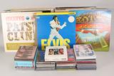 Vintage Vinyl, CDs,  Concert Book: Elvis, Beatles, Pink Floyd & More