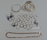 Silver Jewelry Items - .925 & Others