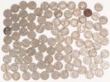 Bag of Buffalo Nickels; approx. 100 +/-