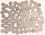Bag of Buffalo Nickels; approx. 85 +/-