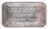 1 Troy oz. .999 Fine Silver Engelhard Bar, P 60471