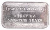 1 Troy oz. .999 Fine Silver Engelhard Bar, P 60421