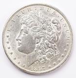 1897-P Morgan Silver Dollar