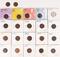 22 Indian Head Pennies, various dates/mints