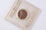 1943 Copper Plated Lincoln Wheat Penny