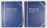 1 Jefferson Nickel Book 1938 to 1961 & 1 Partial Book