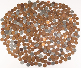 2nd Bag of Wheat Pennies, various dates/mints,