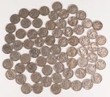 70 +/- Buffalo Nickels, various dates/mints