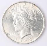 1923-P Peace Silver Dollar